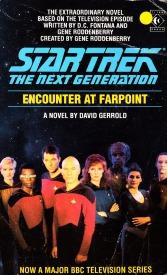 Resultado de imagem para Encounter at Farpoint (Star Trek: The Next Generation) book